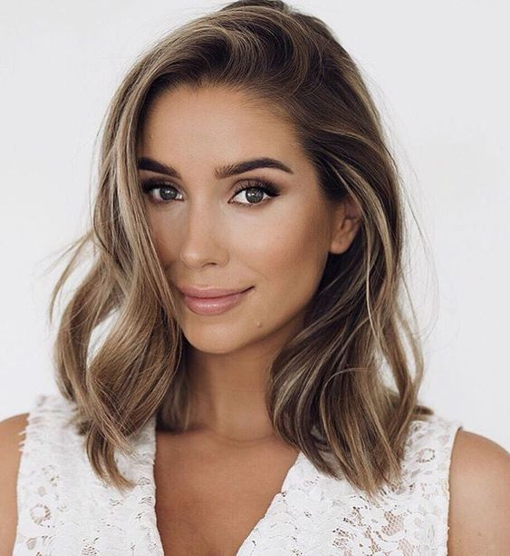Medium Length medium hairstyles medium hairstyles 2019 Shoulder Length Hair