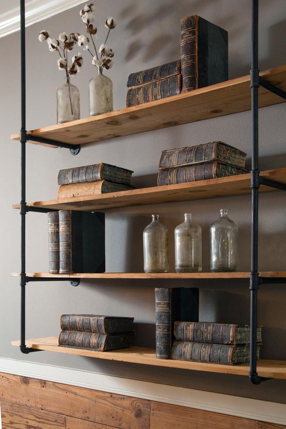 FLOATING SHELVES WALL SHELVES  Pallet Shelves  Shallow Shelves
