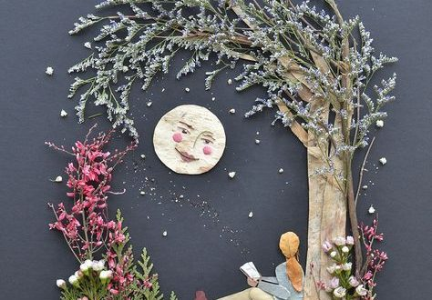 Dried Florals pressed bouquet flowers Dried Flower DIY Pressed Flower Flooring Designs