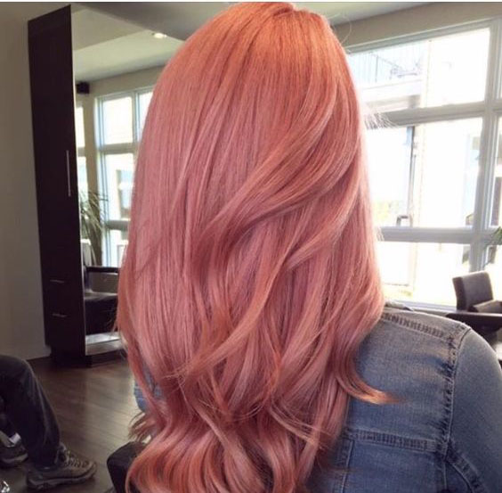 40 Best Rose Gold Hair Color Ideas To Try Veguci