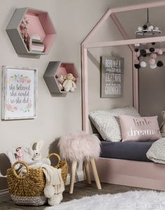 Girl Bedroom BEDROOM MAKEOVER Pink Bedroom bedroom design bedroom ideas