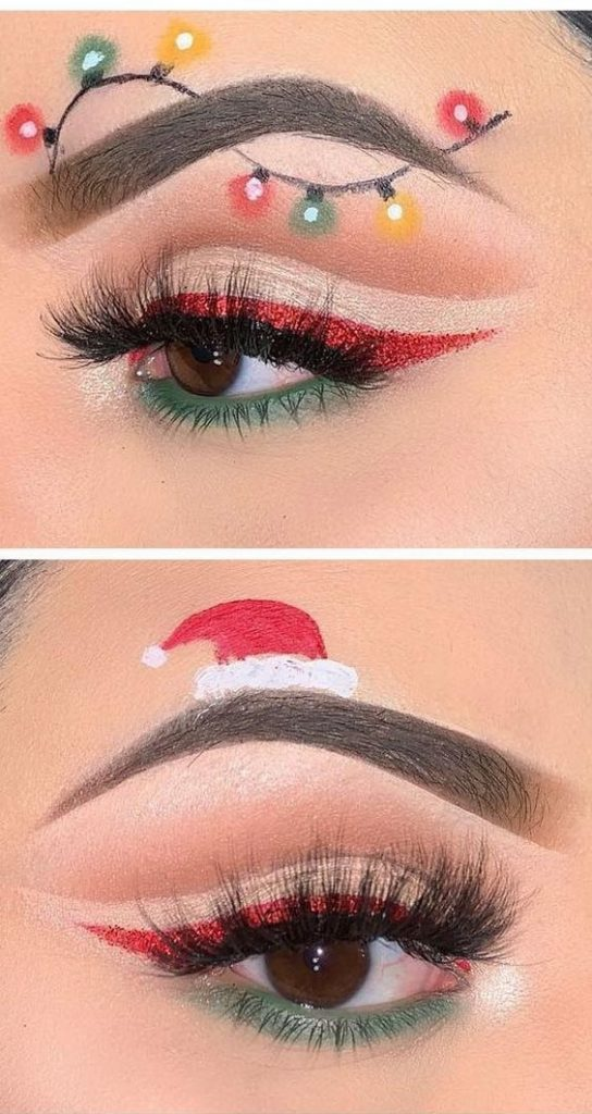 37 Amazing Christmas Makeup Looks You\u0027ll Love 2019 , Page 2