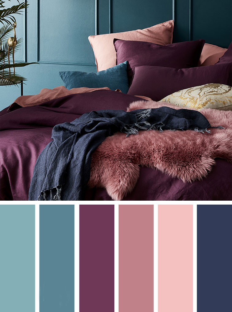 Unique Color, Bedroom Color Schemes, Bedroom Decorating Ideas, Bedroom Design, Bedroom decor