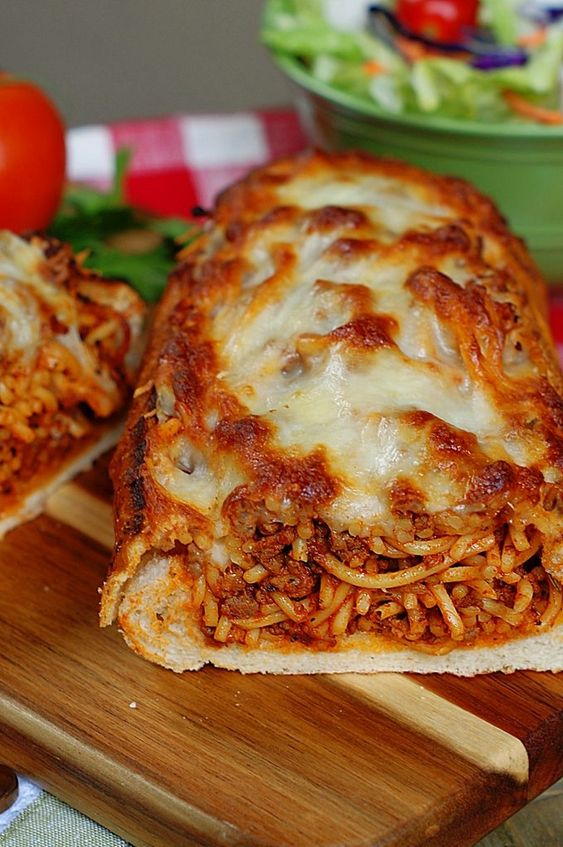 Dinner Recipe Baked Spaghetti Spaghetti Recipes Weekend Recipes Spaghetti Sauce SPAGHETTI SQUASH